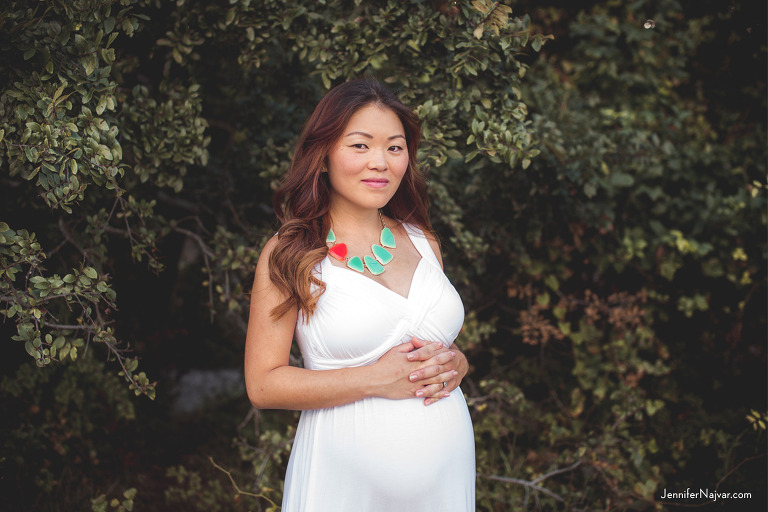 Maternity Session in the Austin Greenbelt