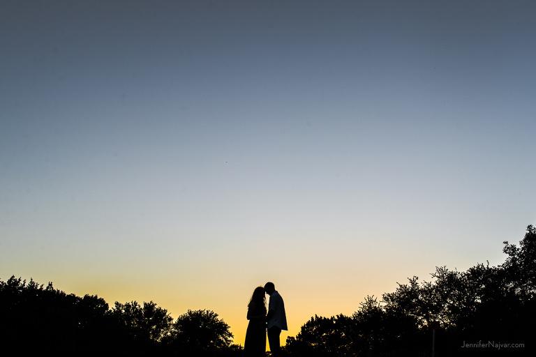 pregnancy photography sunset cedar park