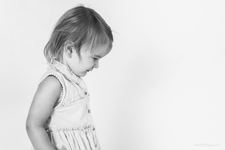 Two-Year-Old Girl Portrait