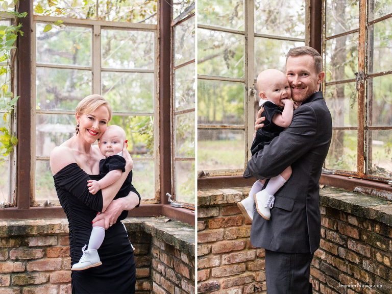 Fall Family Photography Austin Sekrit Theater