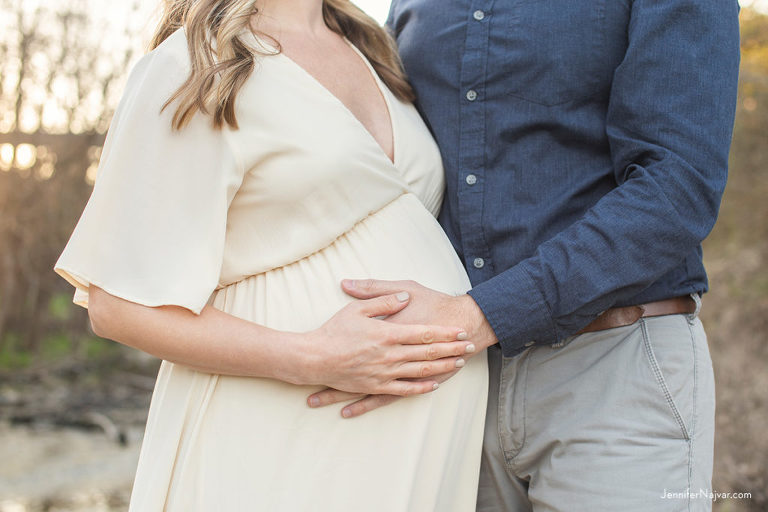 pregnant bump shot